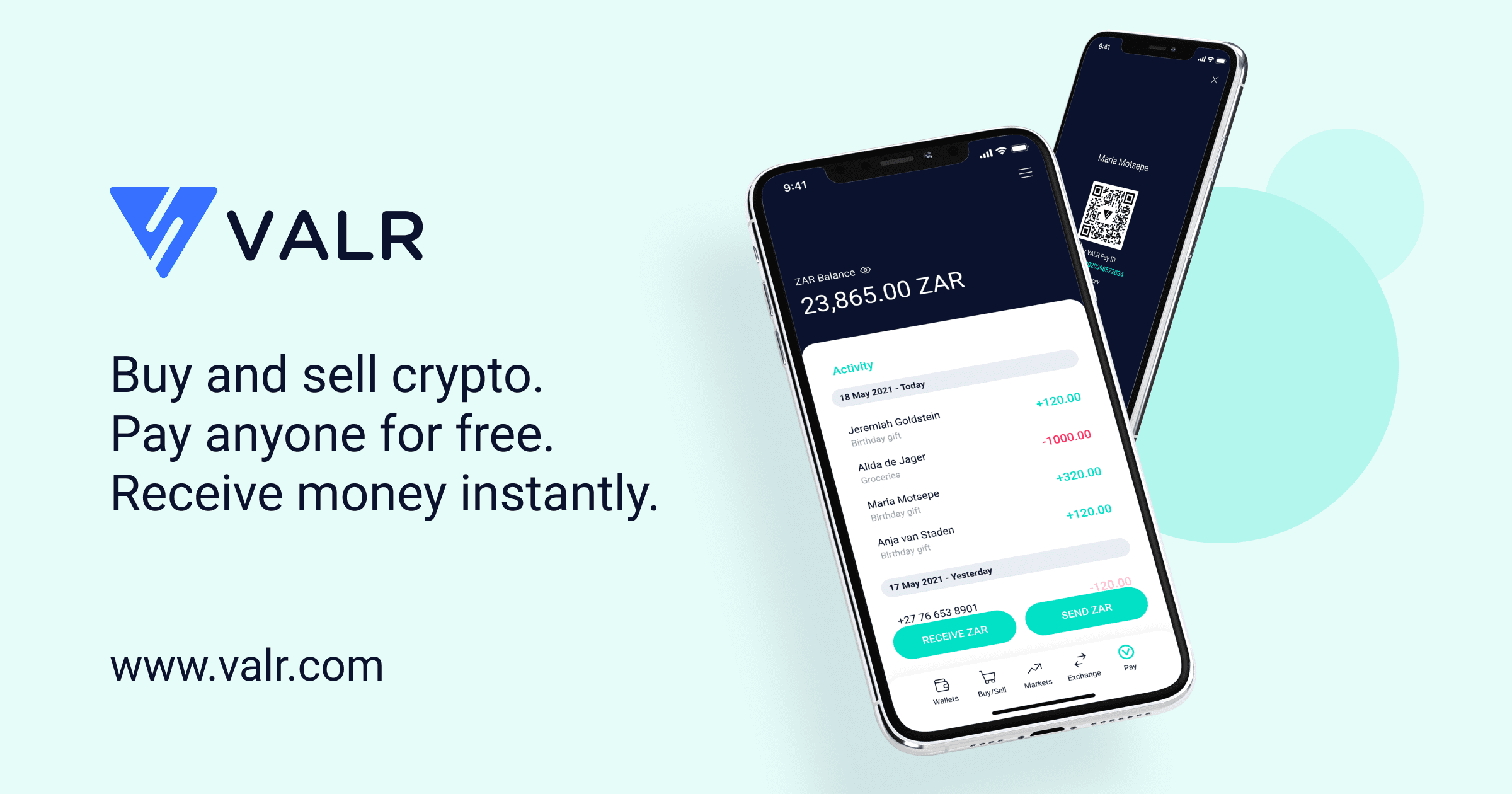 Buy Bitcoin & Cryptocurrency | VALR South Africa